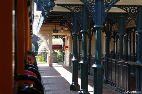 disneyland railroad main street station dlp guide disneyland paris guidebook
