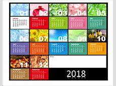 PowerPoint Kalendervorlagen 2018 OfficeLernencom