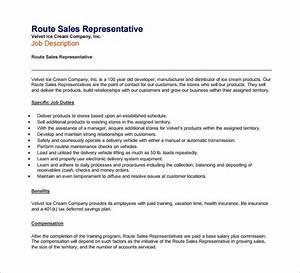 11 sample sales representative job description templates With sales rep job description template