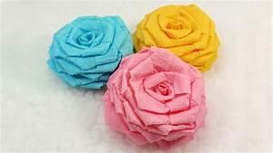 Einfache Papierblume Basteln : blumen selber basteln 55 ideen f r kinder und erwachsene die gern basteln ~ Eleganceandgraceweddings.com Haus und Dekorationen