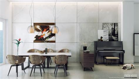 Dining Room Modern And Unique Contemporary Dining Room 3 Interior Design Ideas