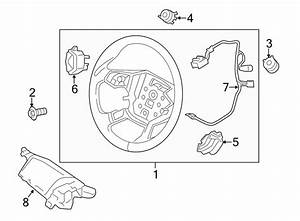 Ford Escape Steering Wheel Wiring Harness