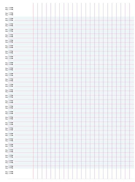 classeur bureau image vectorielle gratuite cahier spirale école