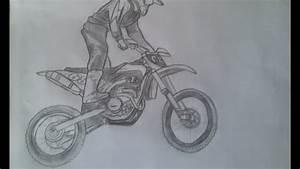 Vidéo De Moto Cross : desenho de moto cross youtube ~ Medecine-chirurgie-esthetiques.com Avis de Voitures