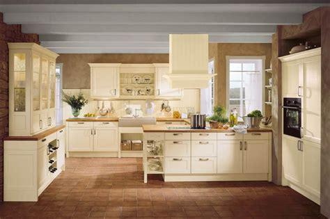 Wandgestaltung Küche Landhausstil by H 228 Cker K 252 Chen Bristol Vanille Landhausstil K 252 Che