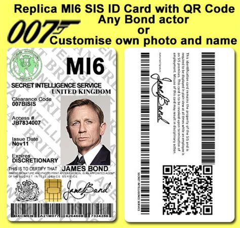 Mi6 Id Card Template