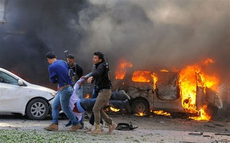 car bomb syria car bomb shakes damascus near headquarters of ruling party telegraph
