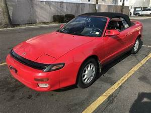 1992 Toyota Celica Gt 114 787 Miles Red Convertible 4