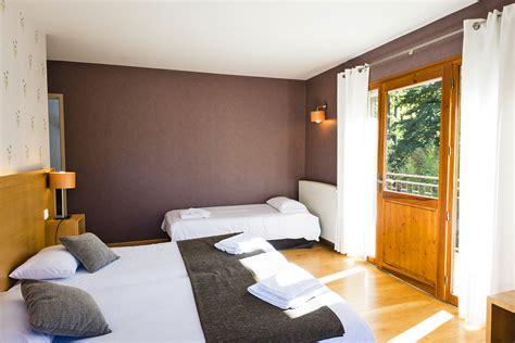 hotel chambre communicante le chalet hôtel le chalet à ax les thermes chambre