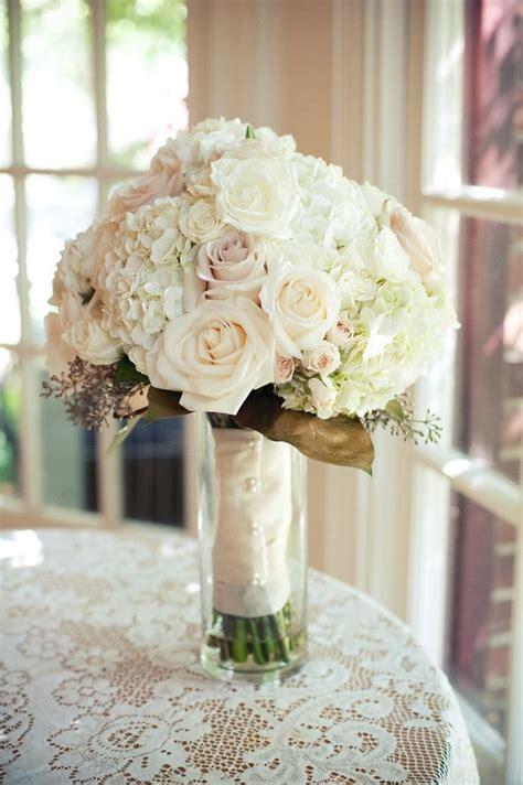 hydrangea bouquet ideas  pinterest white