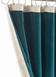 Rideaux Velours Bleu : medicis rideau en velours epais bleu orage ~ Teatrodelosmanantiales.com Idées de Décoration