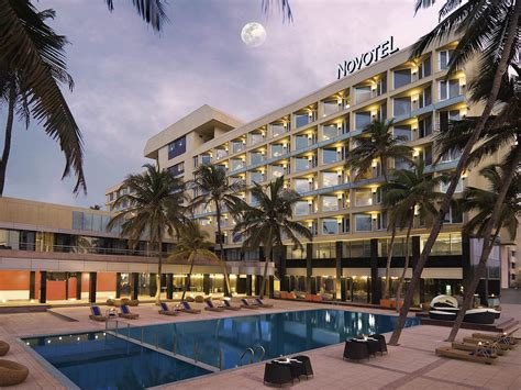 novotel mumbai juhu beach located  beach  airport