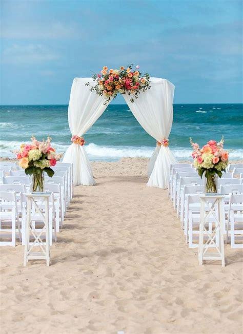 beach wedding arches ideas  pinterest beach