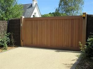 quel type de portail choisir prix des portails selon le With bois pour portail exterieur