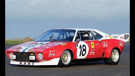 ferrari dino  gt group   racing cars