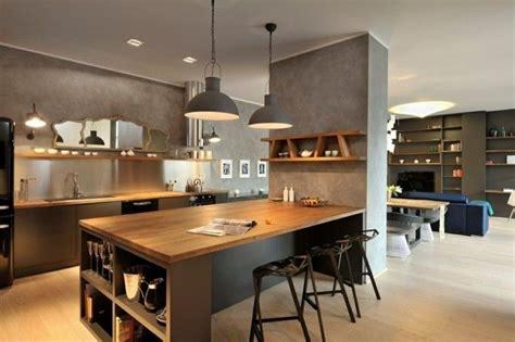 Offene Küche Wohnzimmer Ideen by Wohnk 252 Che Die Essenzubereitung War Nie So Angenehm