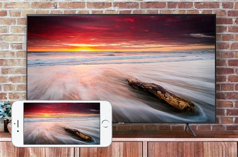 wie sie iphone auf samsung tv spiegeln