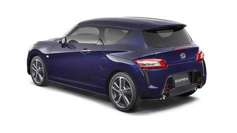 Daihatsu Copen Usa by Daihatsu Previews Copen Coupe And Shooting Brake Concepts