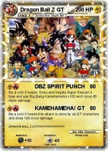 Dragon Ball Z Pokemon Cards