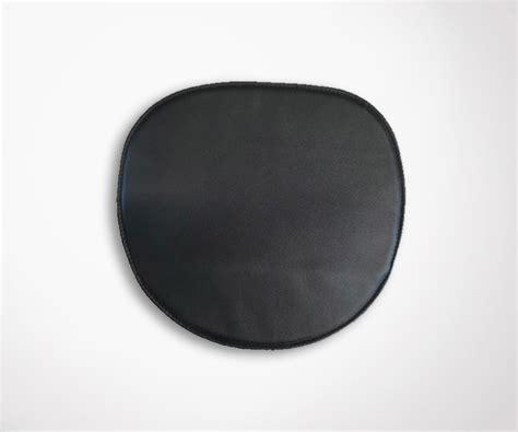 galette de chaise cuir galette de chaise eames en cuir véritable noir