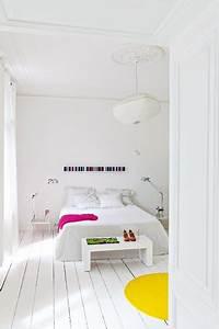 Parquet Stratifié C Est Quoi : peindre un parquet de chambre en blanc c 39 est top ~ Premium-room.com Idées de Décoration