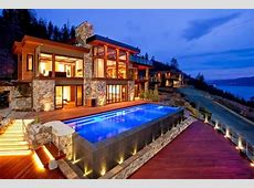 World of Architecture Contemporary Style Lake House In