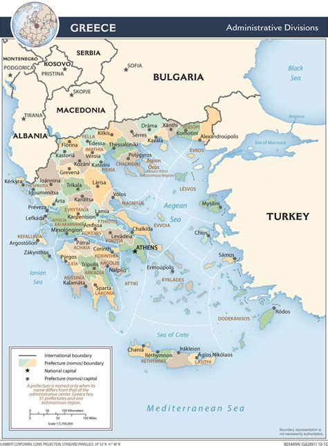 Ģeogrāfiskā karte - Grieķija - 1,403 x 1,904 Pikselis ...