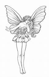 Garden Fairy Pencil Drawings Coroflot Sketch Coloring Wind Mikesell Nicholas Fairies Drawing Sketches Easy Line Pages Chimes Concept Designs Adult sketch template