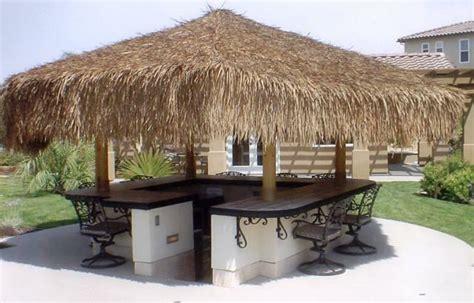 Tiki Hut Grass by Tiki Thatch Palapa Palm Grass Resort Grade 30 Quot X30 Roll Ebay
