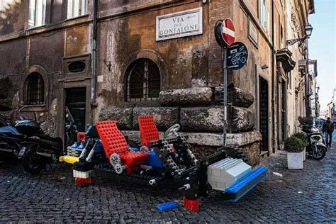 life sized lego vehicles   real world gadgetsin