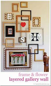 Picture Frame Gallery Wall With a Valentine Surprise - In