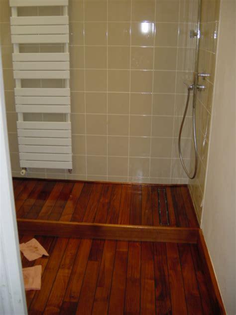 plancher teck salle de bain galerie photos parquets