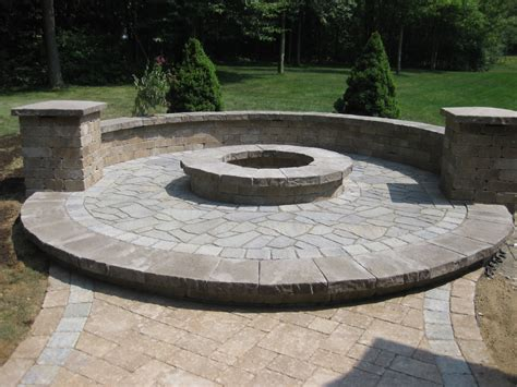 outdoor pits fireplaces fire pits and fire tables allgreen inc