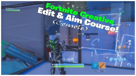 crazy console player completes creative mode shotgun aim