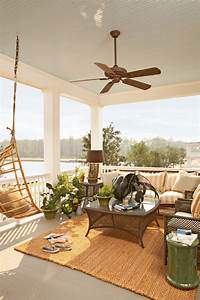 lovely seaside patio decor ideas Summer Curb Appeal – 7 Fun Ways to Decorate Your Home's Front Porch ...
