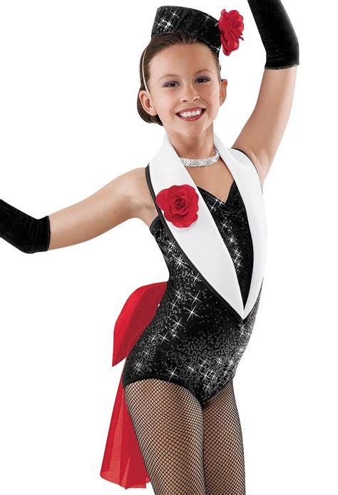 Sequin Tuxedo Leotard and Bow; Weissman Costumes | Putting on the Ritz | Pinterest | Costumes ...