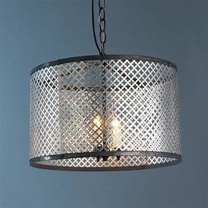 Chandelier drum lamp shades : Radiator screen drum shade pendant light lamp shades