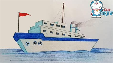 Ferry Boat Drawing Easy ferry boat drawing at getdrawings free for personal