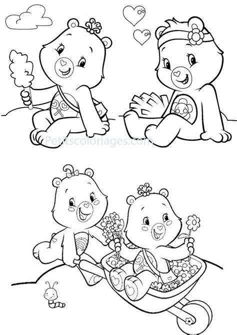 146 dibujos de bisounours para colorear oh page 7