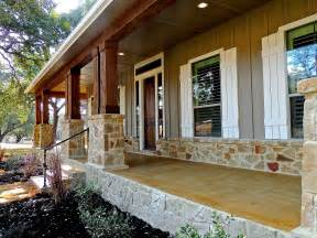 farmhouse plans with wrap around porches hill country home 1608 high lonesome