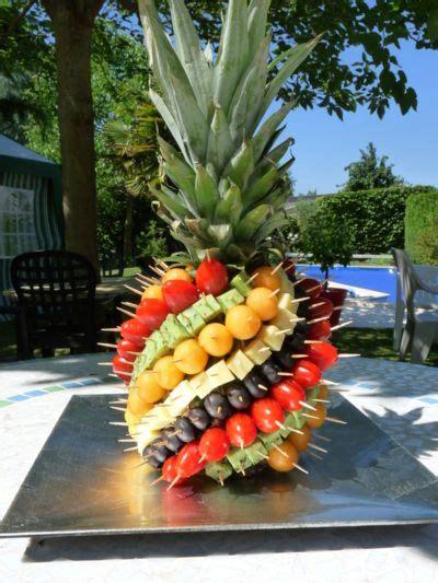 ananas pics apero repas exotique recette aperitif