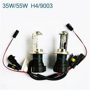 35w  55w Hid Bi Low Dual Beam Bulbs H4 H13 9003 9004 9007 9008 Harness