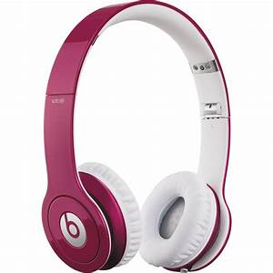 Beats by Dr. Dre Solo HD - On-Ear Headphones MH7C2AM/A B&H ...