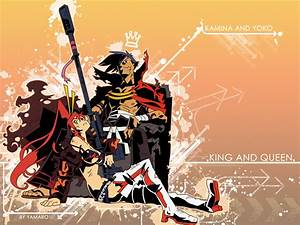 Gurren Lagann Kamina and Simon 20 Wallpapers | Your daily ...