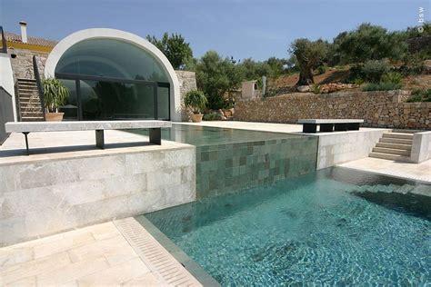 Exklusiver Garten Mit Swimmingpool  Moderne Mediterrane