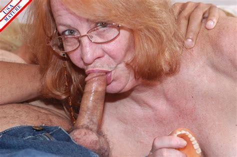 Mature Redhead Sucking A Hard Throbbing Cock Pichunter