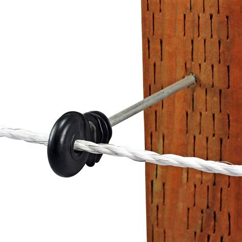 """All the electric fence insulators you need to secure your fencing: Screw-In Ring Insulator - 6"""" - POWERFIELDS - High Quality Electric Fence"""