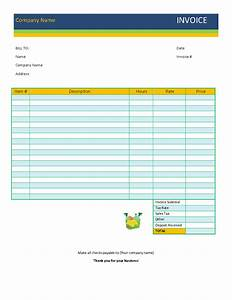 cleaning invoice template With janitorial invoice template