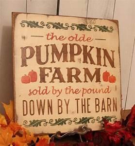 Pumpkin, Farm, Sign, Fall, Sign, Fall, Decor, Door, Sign, Porch, Sign, Yard, Sign, Cottage, Fall