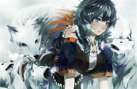 Wolf Anime Wallpapers - anime wolves wallpapers wallpaper cave